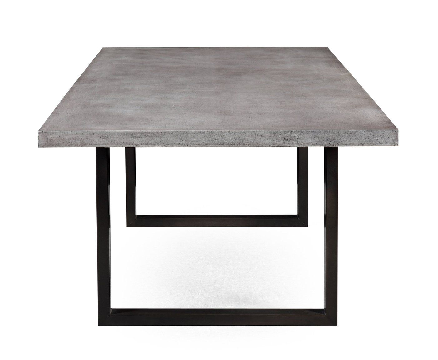 Edna Concrete Veneer Table Concrete Dining Table Dining Table