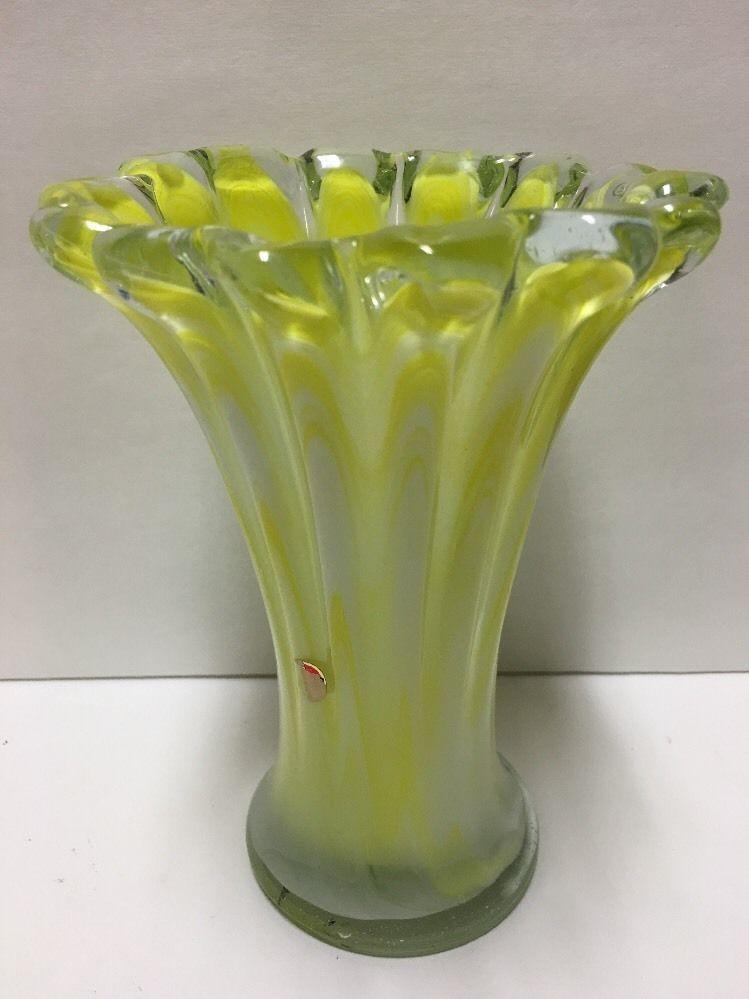 Murano Gl Vase Yellow on yellow contemporary vase, yellow cube vase, yellow mccoy vase, yellow art deco vase, yellow butterfly vase, yellow weller pottery vase, yellow glass vase, yellow chinese vase,