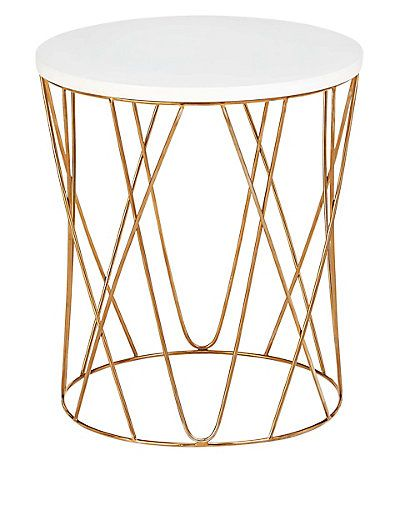 Lena Copper Side Table M Amp S Copper Side Table Copper Coffee Table Copper Living Room