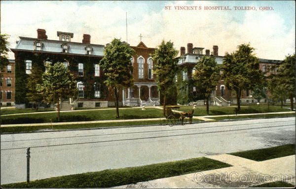 st vincent hospital toledo ohio map St Vincent S Hospital Toledo Oh Ohio Toledo Toledo Ohio