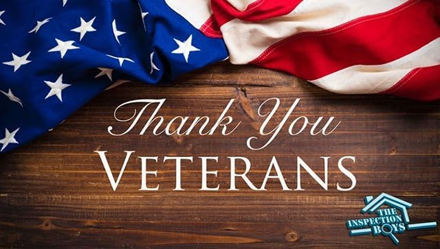 Thank You to all of the Veterans for your sacrifices and for our protection of our beautiful country. We salute you honor you and thank you! #VeteransDay #USA #Military #America #TheInspectionBoys #TheBoys #InspectWithRespect #Veterans #ThankYou #Home #HomeInspector #RealEstate #Realtor #SuffolkCounty #LongIsland #NewYork #veteransdaythankyou