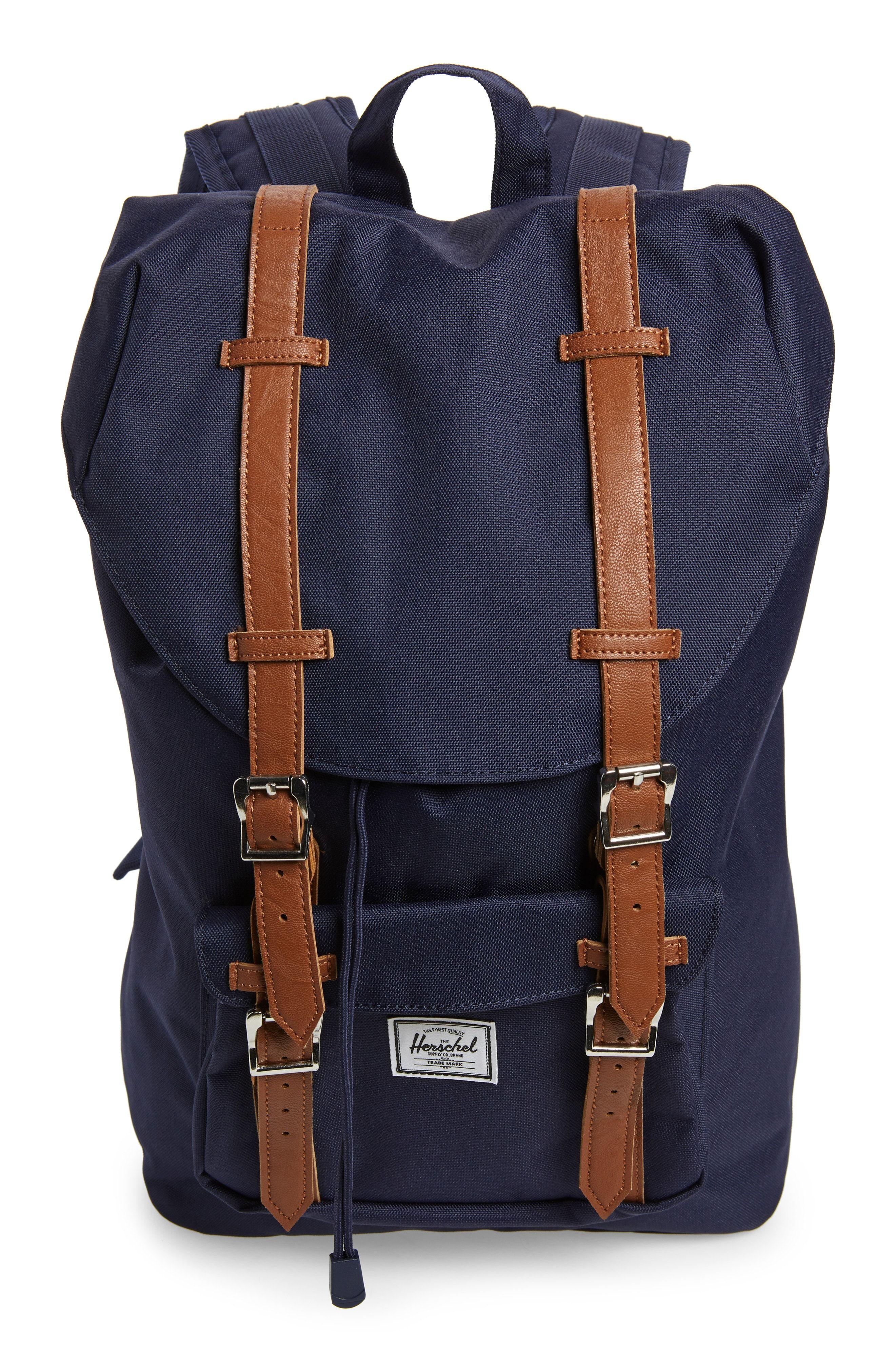 Herschel Supply Co Little America Mid Volume Backpack Blue Herschelsupplyco Bags Backpacks Herschel Supply Co Herschel Accessories