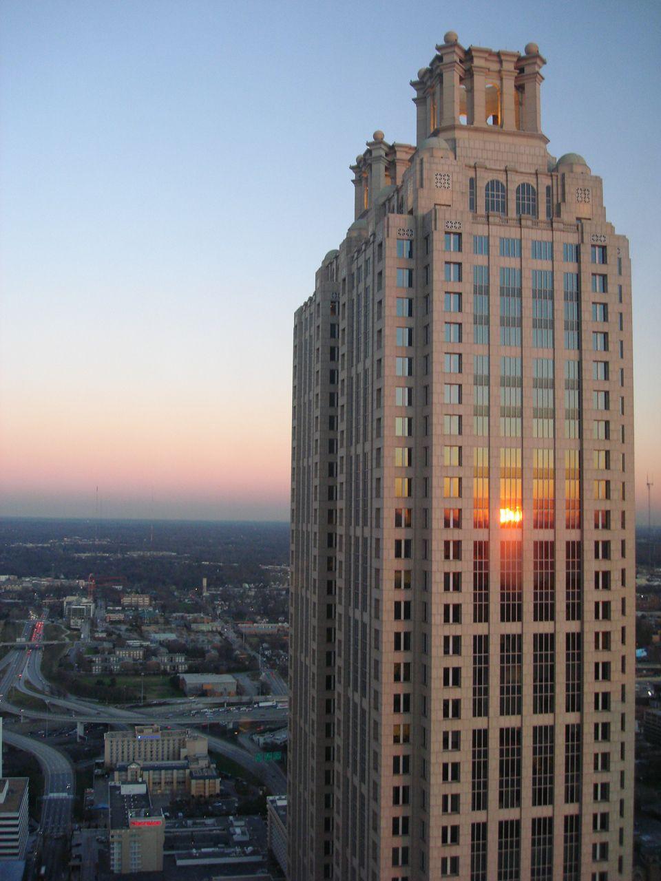 This Is Where I Work 40th Floor Skyscraper Architecture Atlanta Skyline Skyscraper