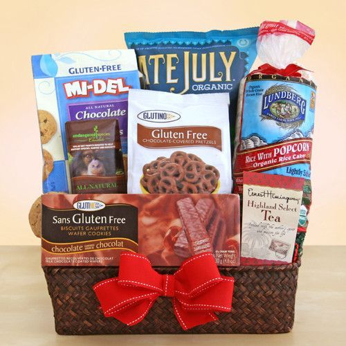 How to make baby shower gift basket yourself diy gluten free gifts gwt gift baskets is opening soon gluten free negle Images