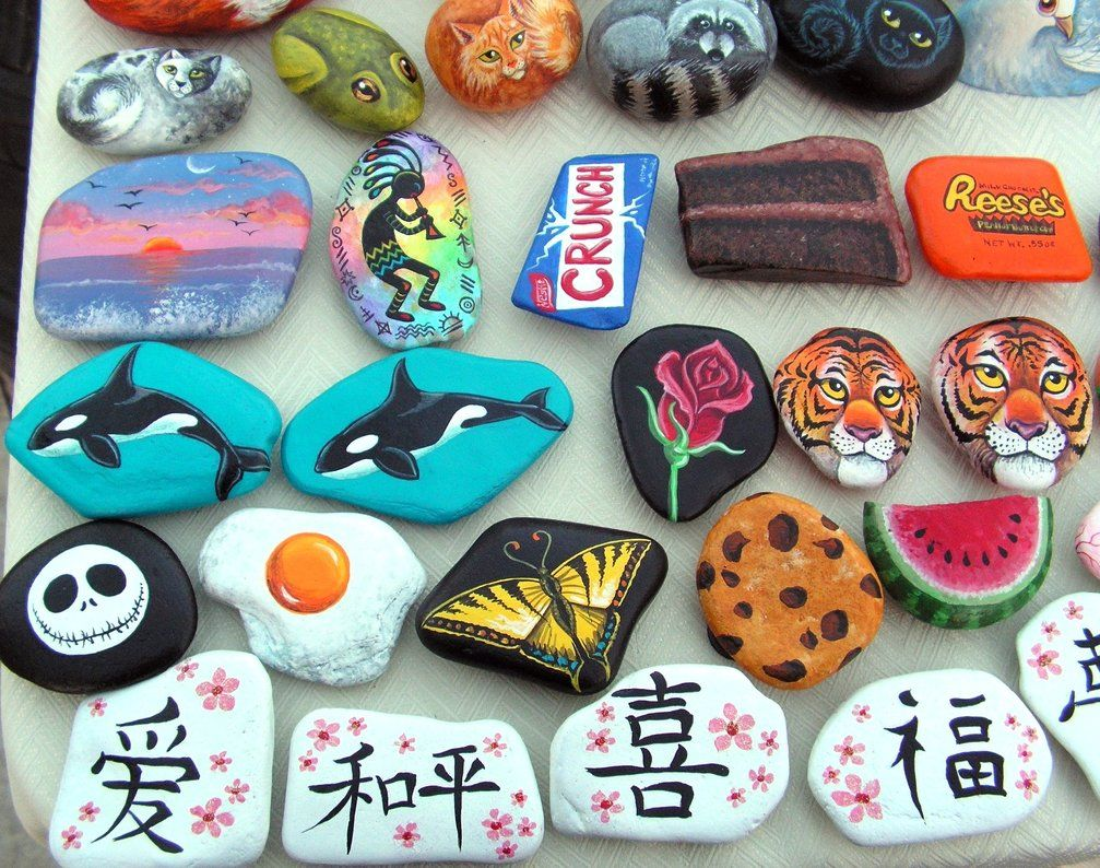 Art For Kids Cute And Creative Rock Painting Ideas Tag Awesome Fun Stone Animals