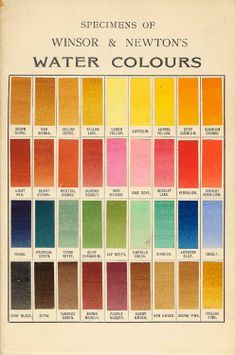 Water Colours : water, colours, Watercolor