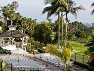 Newport Beach Marriott Hotel and Spa - Ballroom view wedding reception locations - Newport Beach - Orange County - Southern California