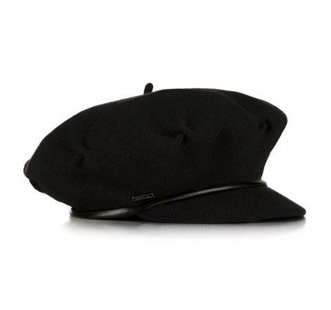 Damski Beret Welniany Z Daszkiem 91 Hf 100 7163282 Mens Leather Bag Caps For Women Best Wallet