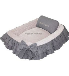 Couture Dog Bed - Ruffles and Frills!