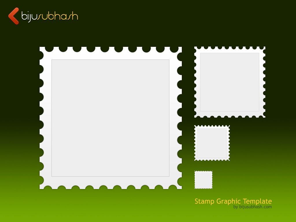 White Stamp Graphic Template Psd Bijusubhash Create The Design