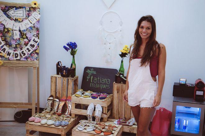 tatiana marques calçados no showroom da nephew