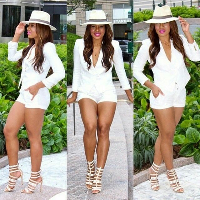 Spring/Summer Fashion | All white party outfits, White ...