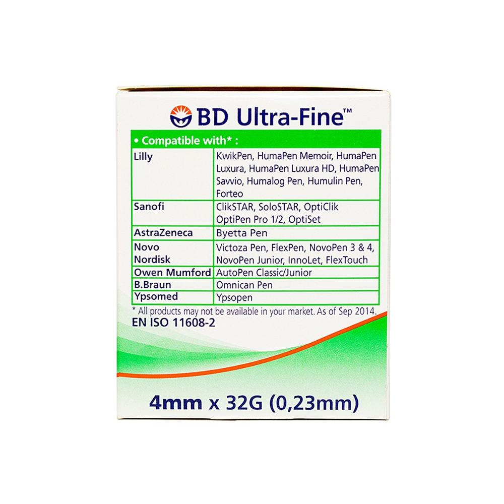 Kim Bd Ultrafine 4mmx32g Nha Thuốc Long Chau