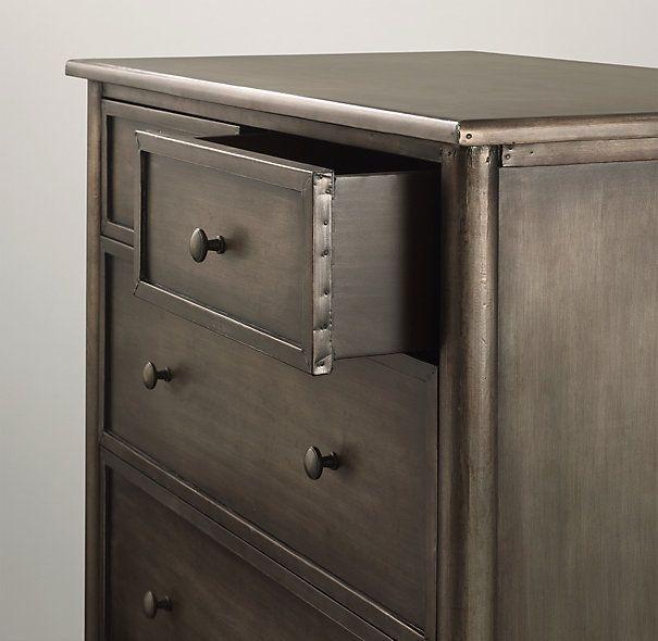 Spencer Metal 10 Drawer Dresser