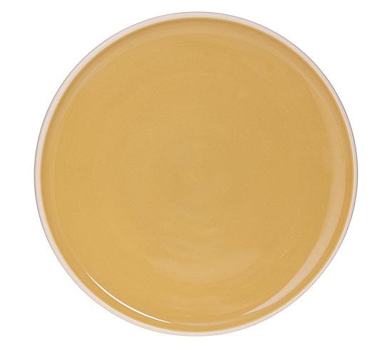 assiette plate o 27 cm sofia jaune