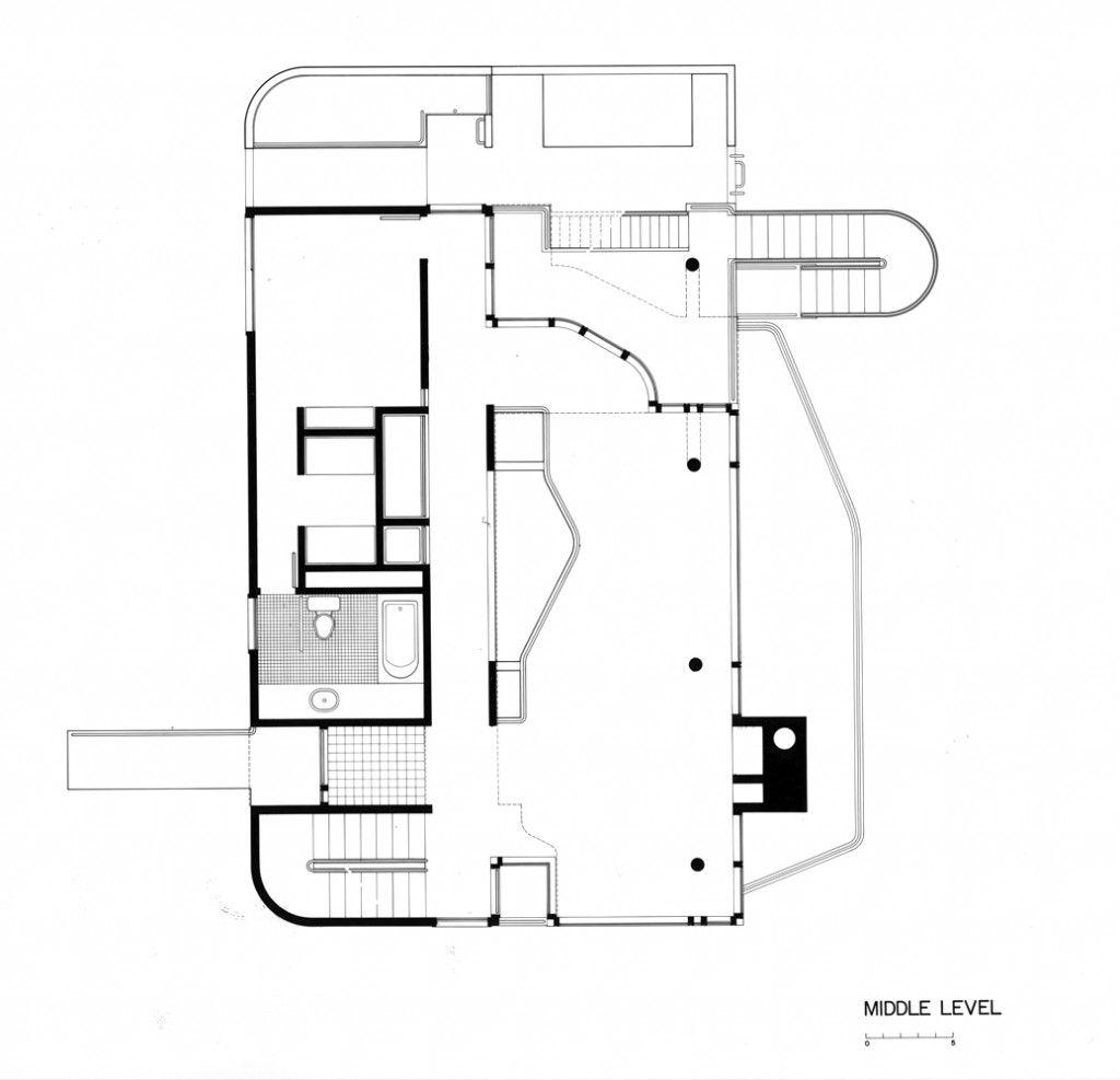 Douglas House Richard Meier Partners Architects – Richard Meier Smith House Floor Plans