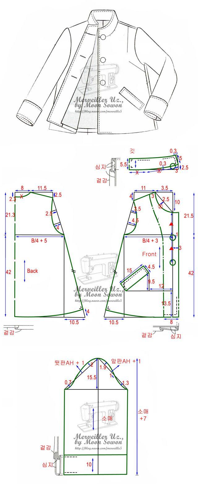 Pin de El maletin de Moruena en costura patronaje diseño | Pinterest ...