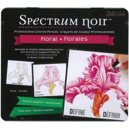 Crafter's Companion SPECL-FL Spectrum Noir Blendable Pencil, Floral Color, 24-Pack Crafter's Companion http://www.amazon.com/dp/B00K6MQ61O/ref=cm_sw_r_pi_dp_66m8tb0W31145