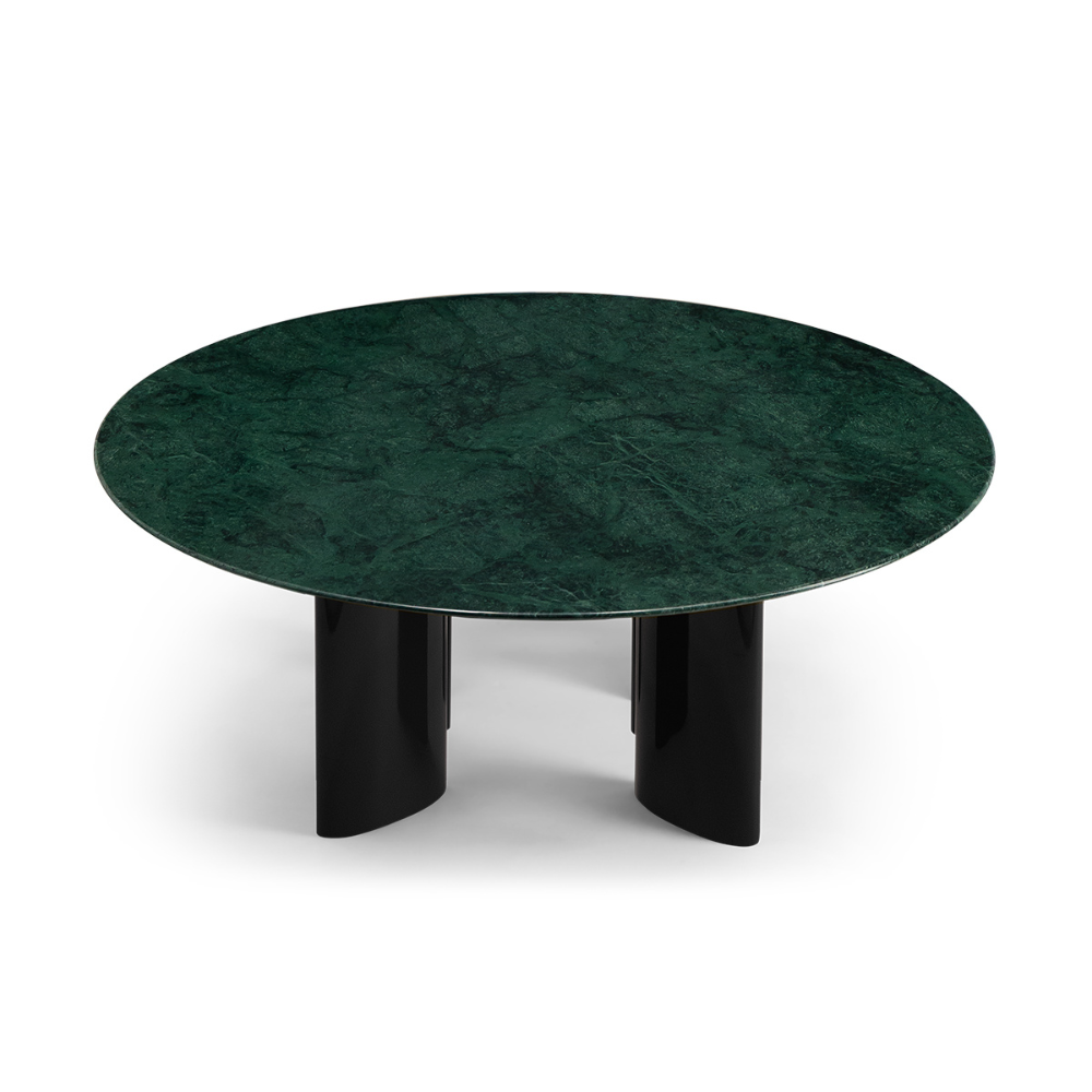 Carlotta Coffee Table Green Marble Top And Black Legs Coffee Table Green Marble Marble Coffee Table [ 1000 x 1000 Pixel ]