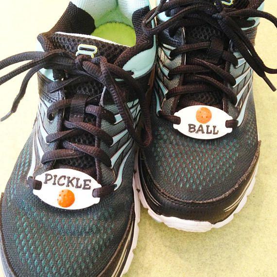 promo code 34cc5 42559 Pickleball Shoe Tags Pickle ball Shoe Charm Pickle ball. Fun and unique  Pickleball shoe tags