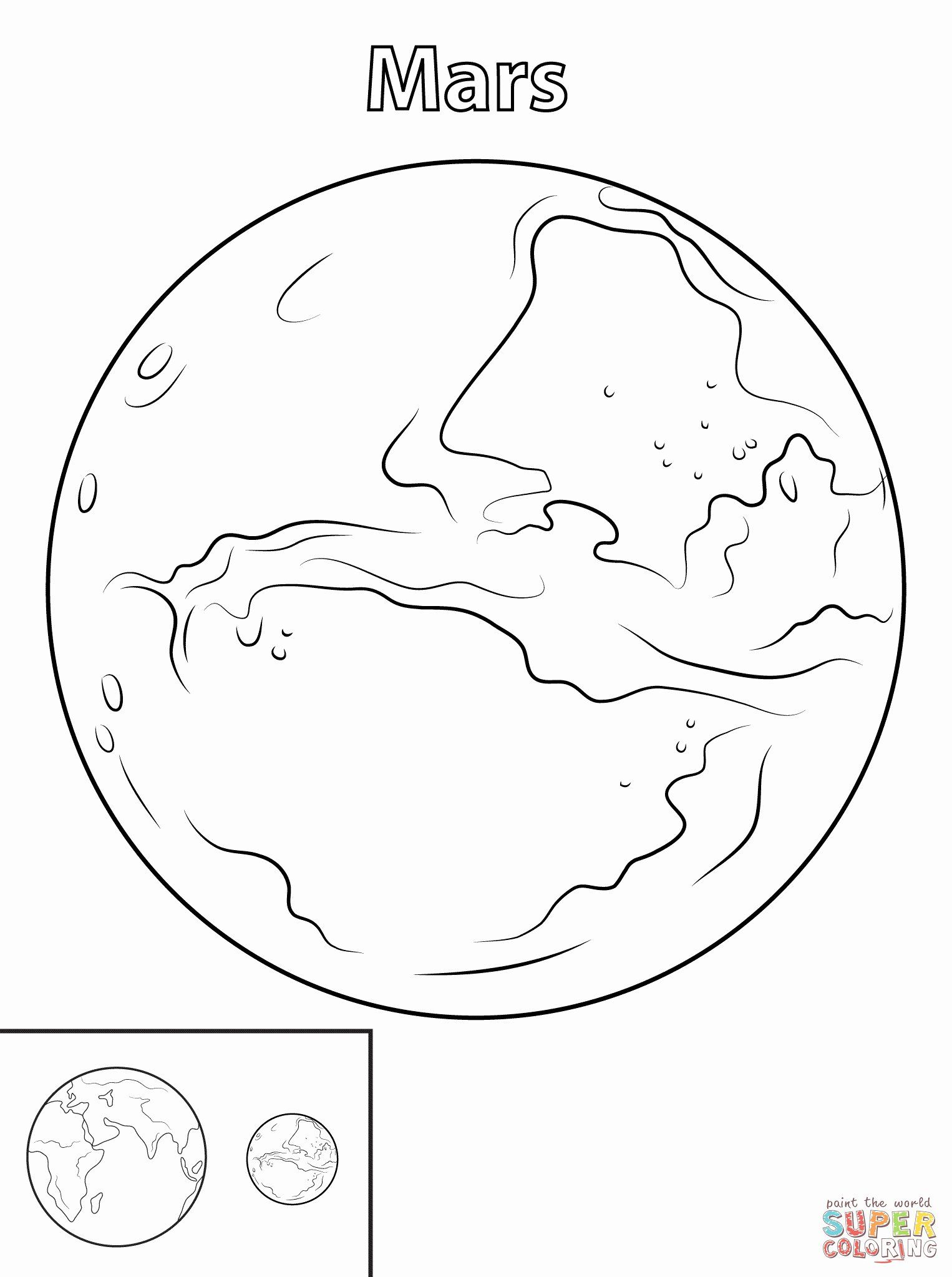 Space Rocket Coloring Sheet In 2020 Planet Coloring Pages Mars