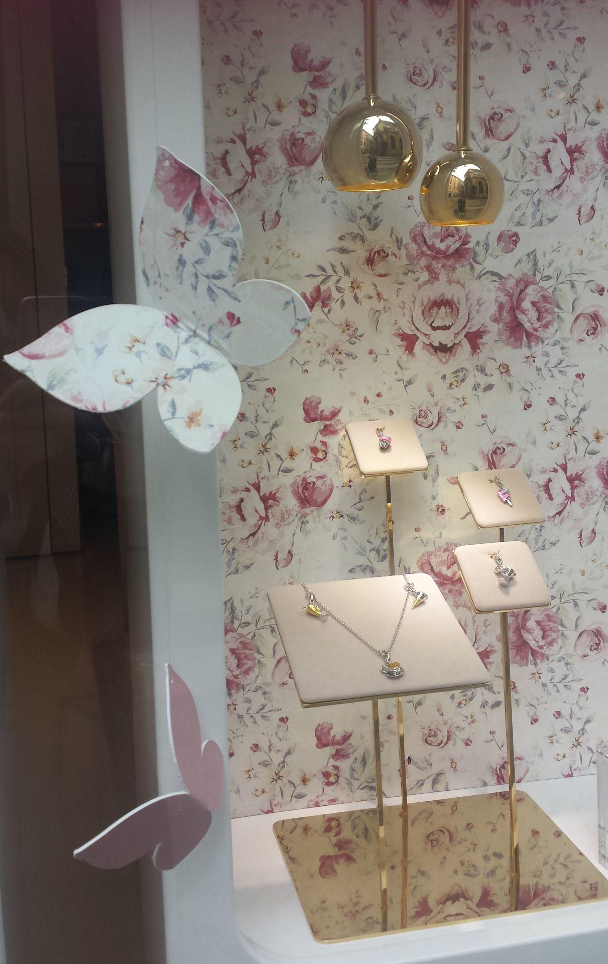 Window display ideas for jewellery  rosato jewellery milan italy
