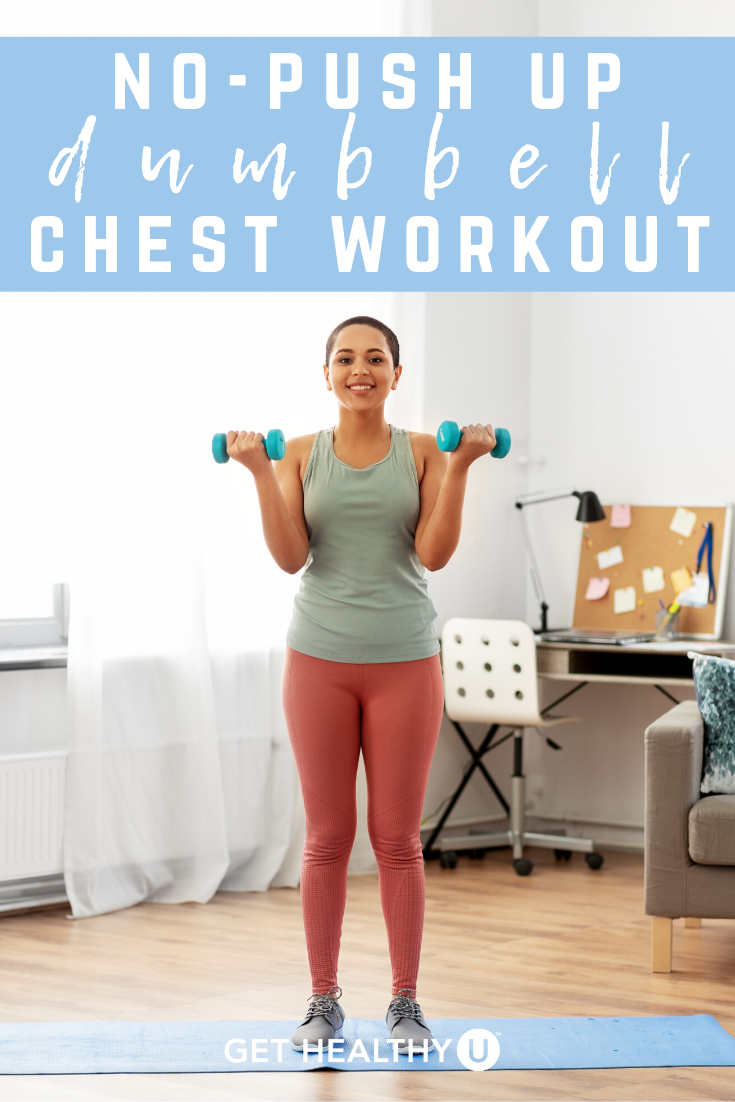 Your AtHome, Dumbbell Chest Workout (No PushUps!) Get