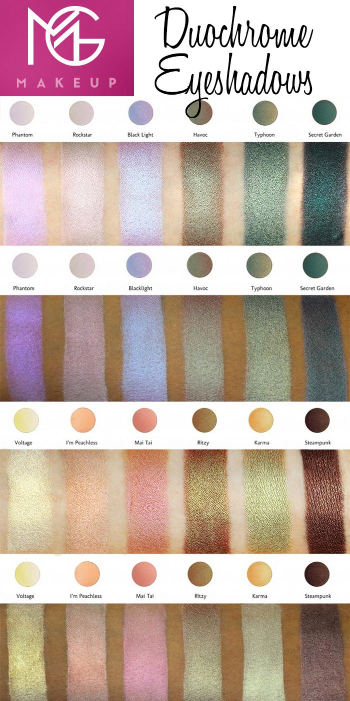Makeup Geek Duochrome Eyeshadows These Shadows Launch On Sept 17 2015 Cruelty Free Makeup Geek Makeup Obsession Artistry Makeup