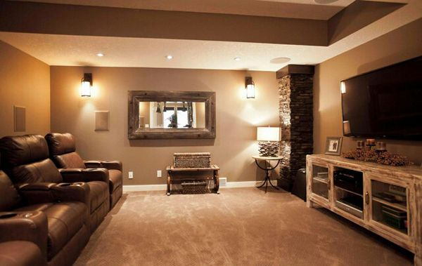 Great Basement Ideas Images Of Basements With Stone Walls  Stonecanyonbasement09 .