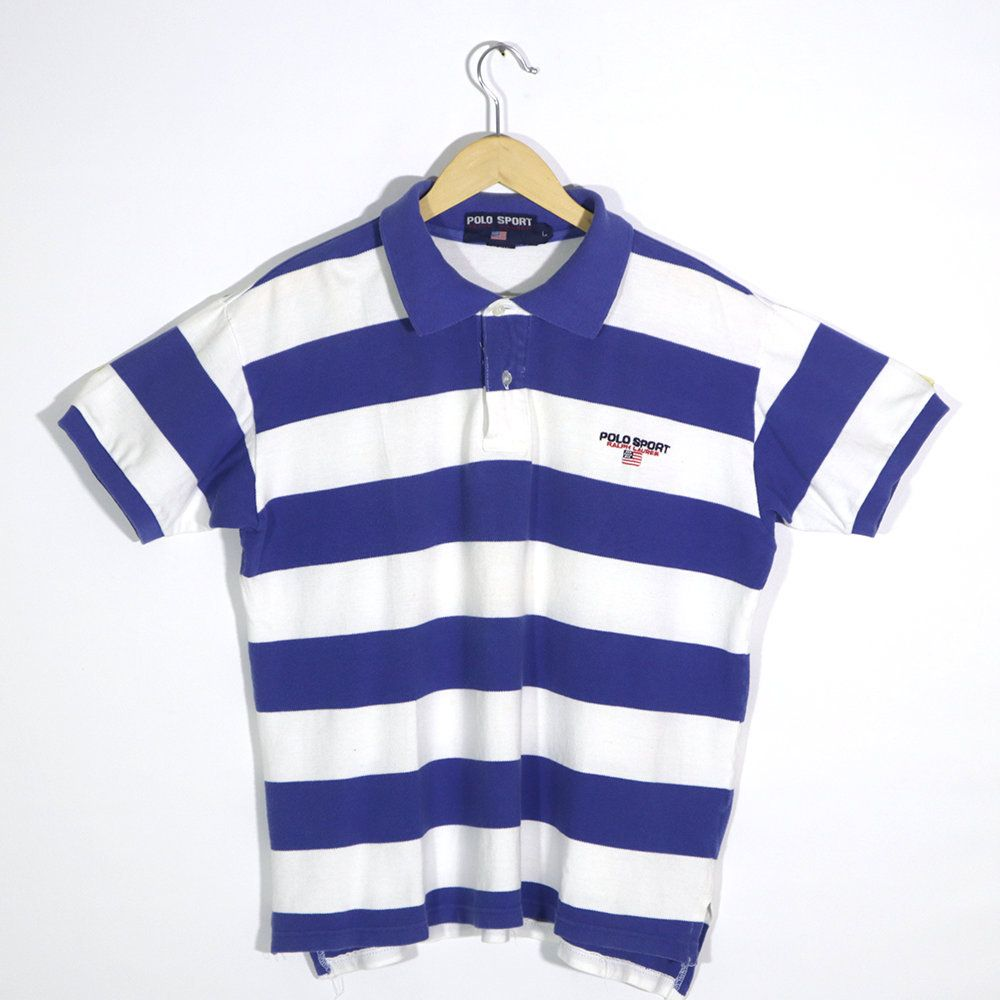 Vintage 90s RL POLO SPORT Ralph Lauren Polo Rugby Shirt