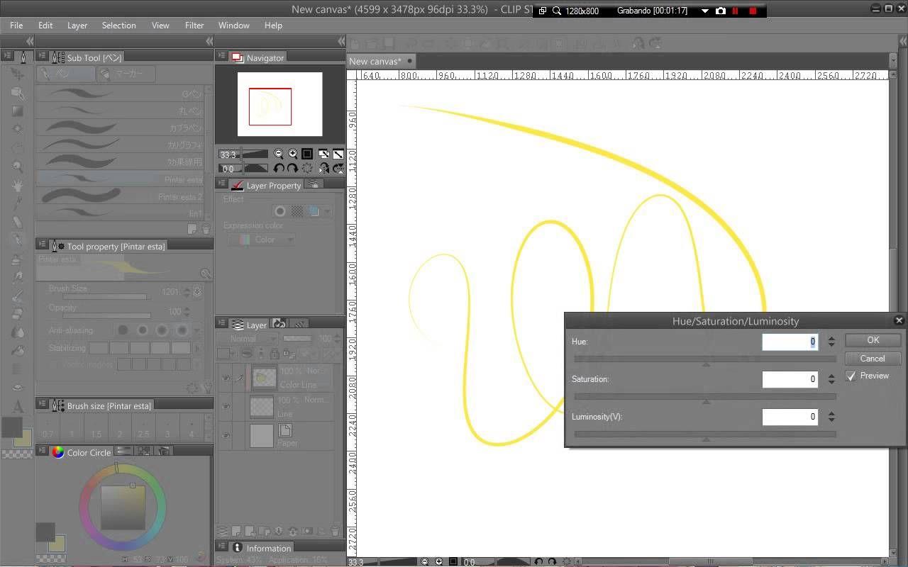 Clip Studio Paint PRO - How to color lines EASY   Clip studio ...