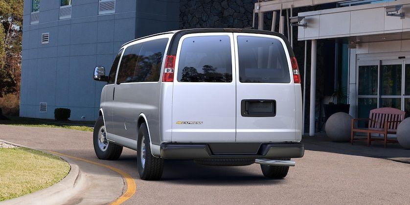 Chevrolet Vans Express Vans Rear Chevrolet Van Chevy Express