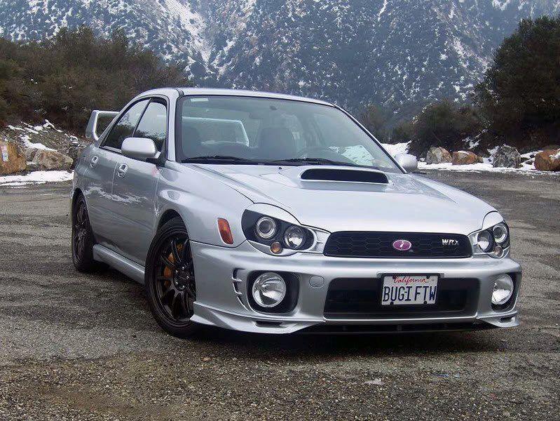 Subaru Impreza Wrx With Custom Eyelids That Shit I Like It