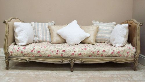 Antique French Daybed Outdoor Living Rooms And Vintage Interiors