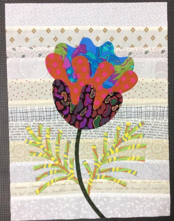 Flower Garden, Kim McLean - Block 19 (Laila Nelson)
