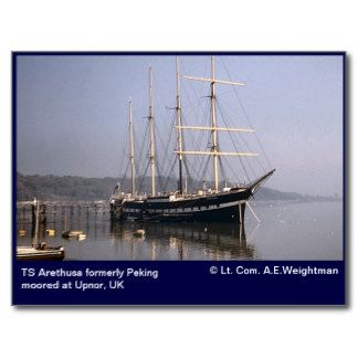 Postcard for Ts arethusa pictures