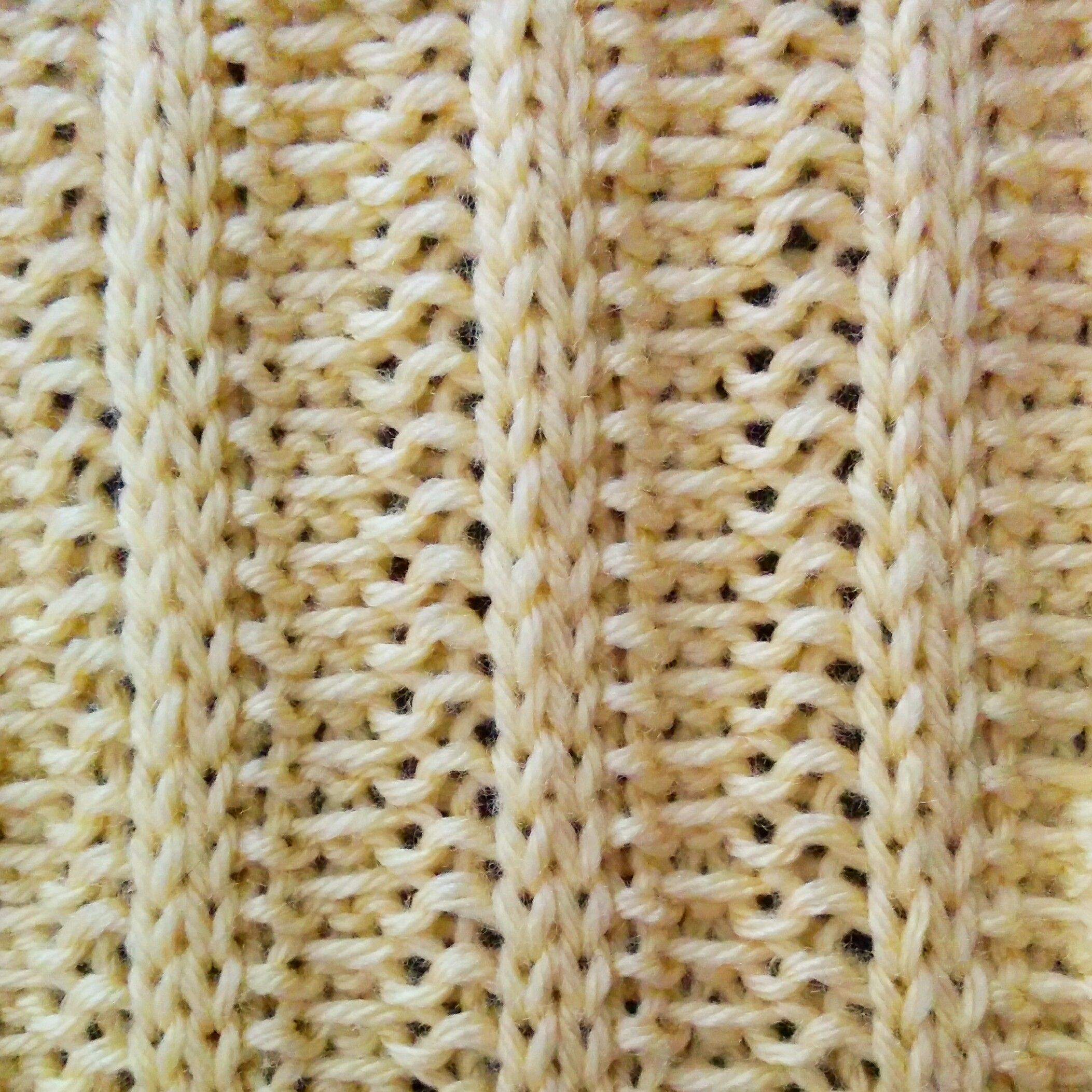Like the Rib stitch, the Welted Rib stitch is reversible but it does ...