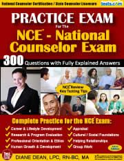 30 NCE Practice Test questions | Counseling | Professional