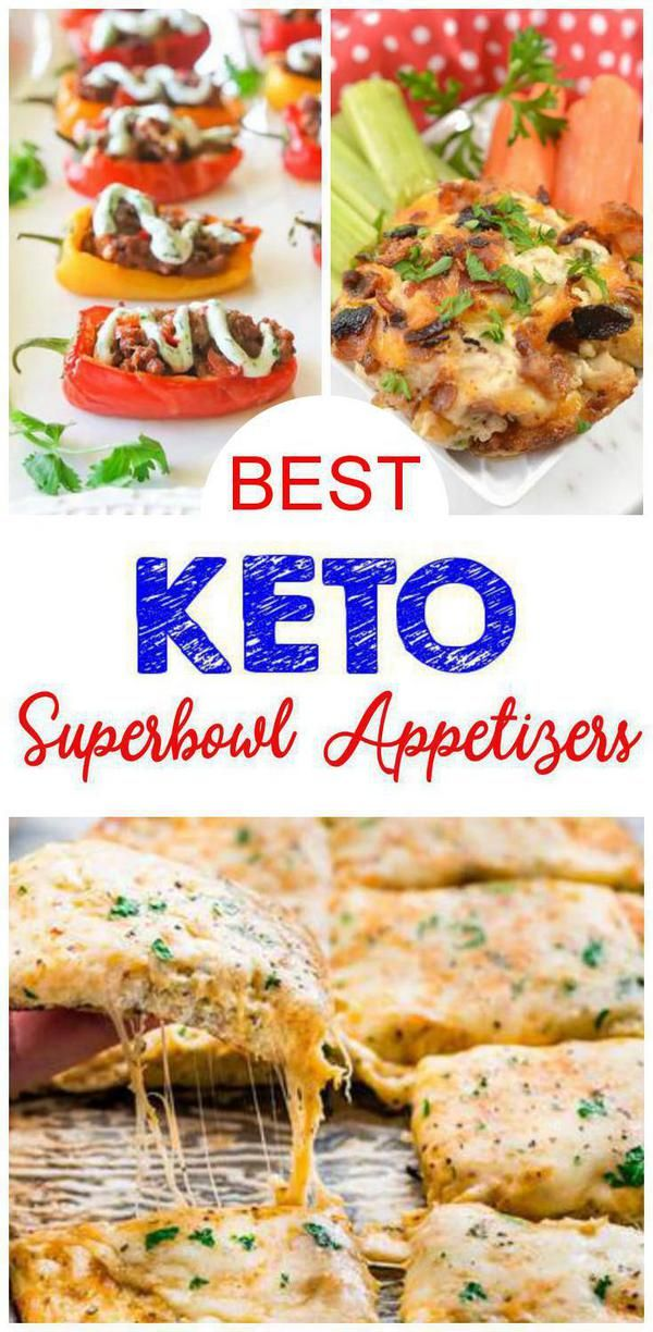 11 Keto Superbowl Appetizers – Easy Low Carb Ideas – BEST Keto Appetizers For Parties -Potluck & Crowd – Quick Ketogenic Diet Recipes