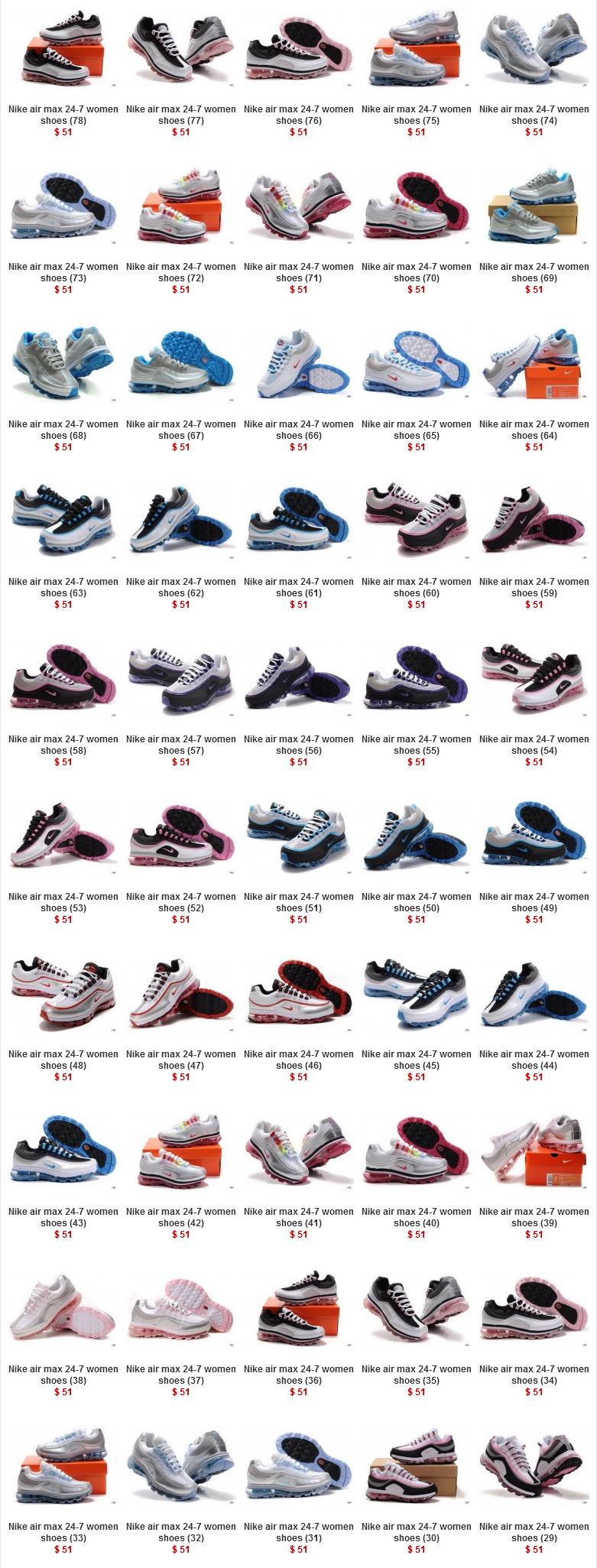 super popular 593b2 2d14b Nike Air Max 24-7 Women Shoes Page 1