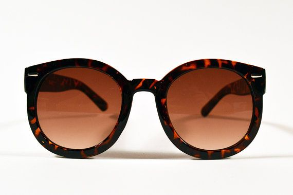 Vintage+Tortoise+Oversized+Circle+Sunglasses+by+saltwatergypsy,+$28.00
