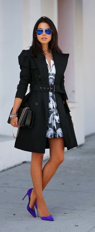 15 Ideas How to Wear a Trench Coat in Spring Summer | Trench ...