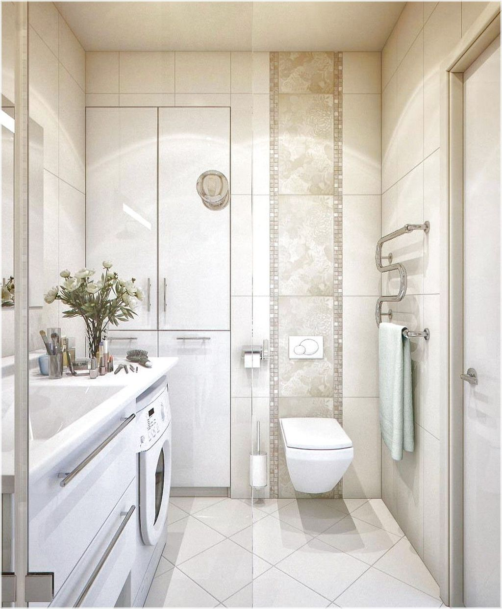 20+ Elegant And Simple Bathroom Designs For Small Spaces ...
