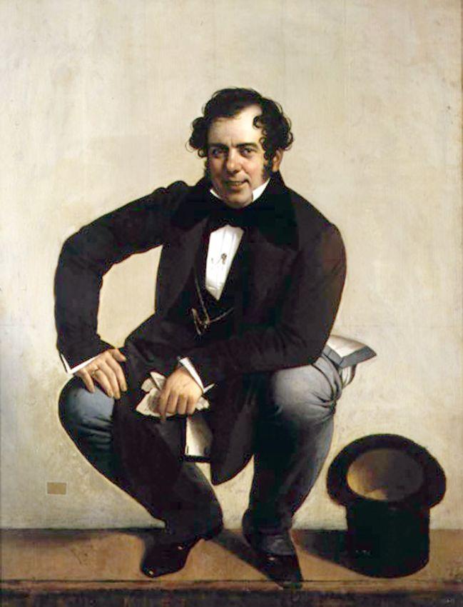 Giuseppe Tominz / Jožef Tominc (1790-1866), autoportrait