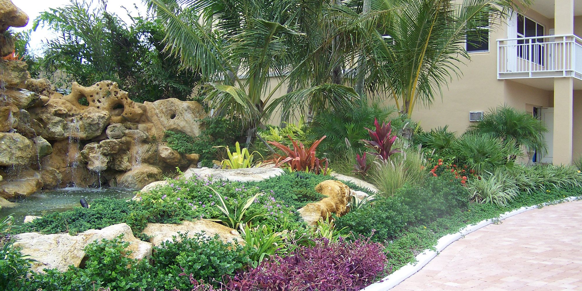 tropical landscapes ideas solutions for planning outdoor home front garden design ideas with designing ponds
