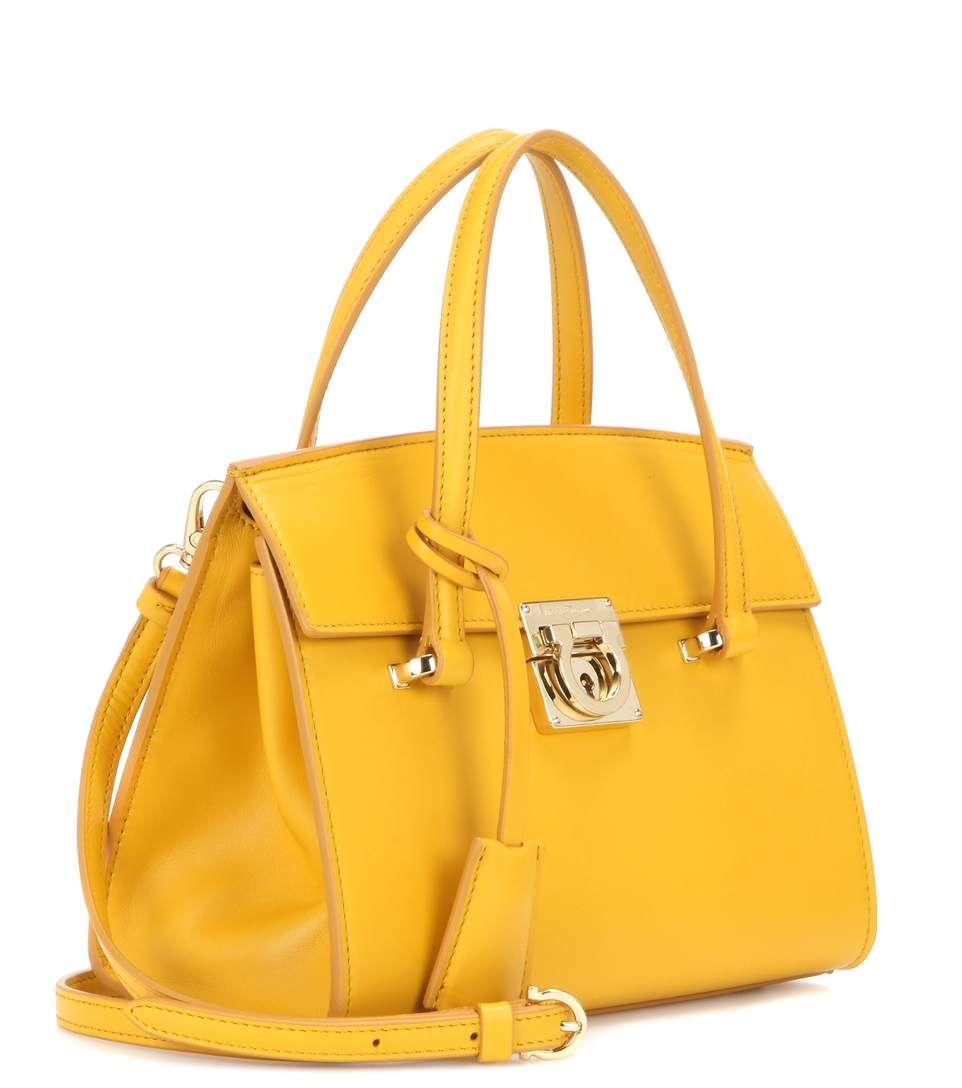 aa0923c3e2 Salvatore Ferragamo - Mara leather shoulder bag