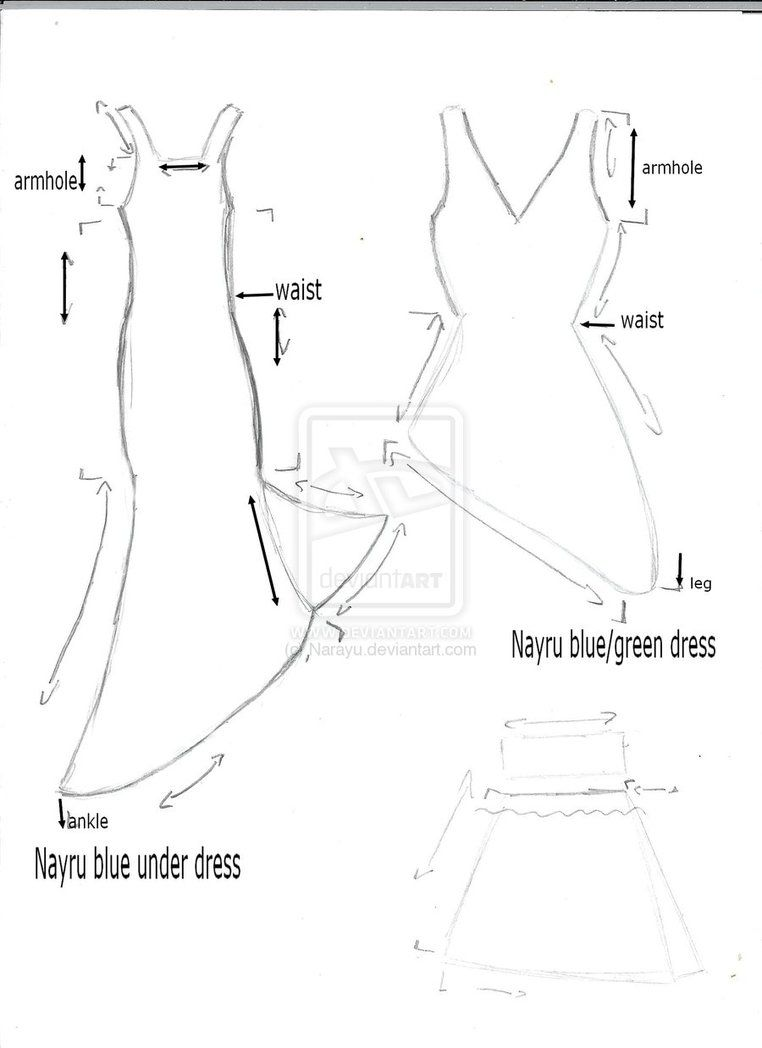 Nayru cosplay dresses pattern by ~Narayu on deviantART