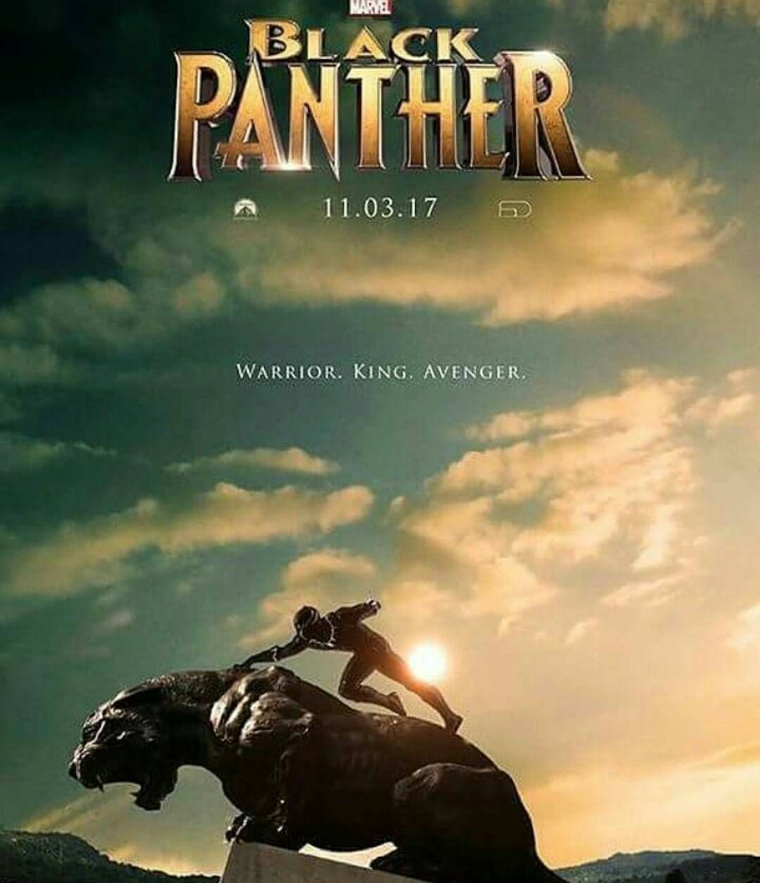 Free Comic Book Day May 2018: Awesome Fanmade Black Panther Poster! Im So Hyped For This