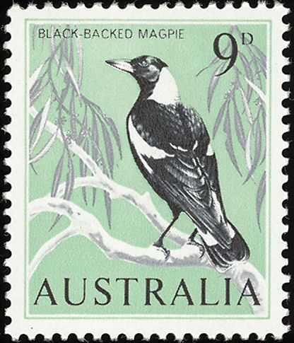 Australia bird stamps - mainly images - gallery format Stamps - new letter to minister format australia