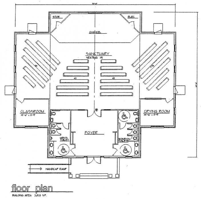 Contemporary Worship Blueprints  Church  Building